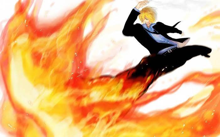 sanji Diable jambe