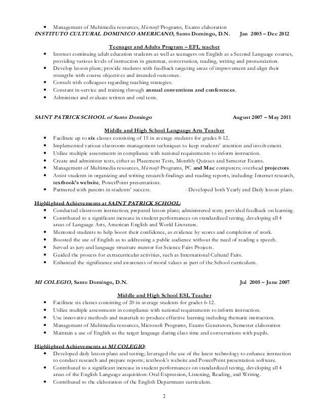 esl teacher sample resume esl teacher resume samples visualcv database samples esl teacher sample resume resume - Esl Teacher Resume Samples