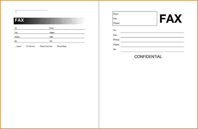 Fax Cover Letter Pdf Free Fax Cover Sheet Template Printable Fax - fax cover letters