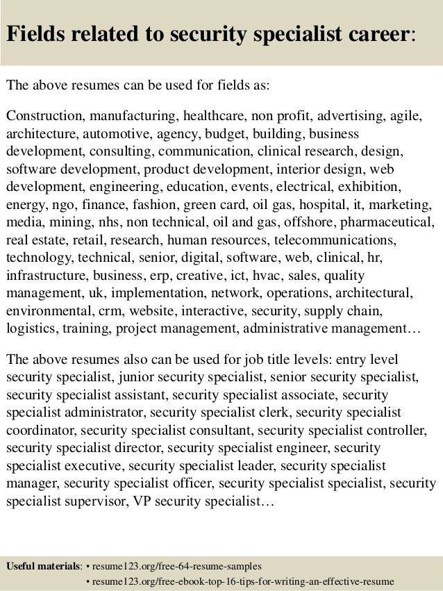 corporate physical security guard sample resume information ciso resume - Ciso Resume