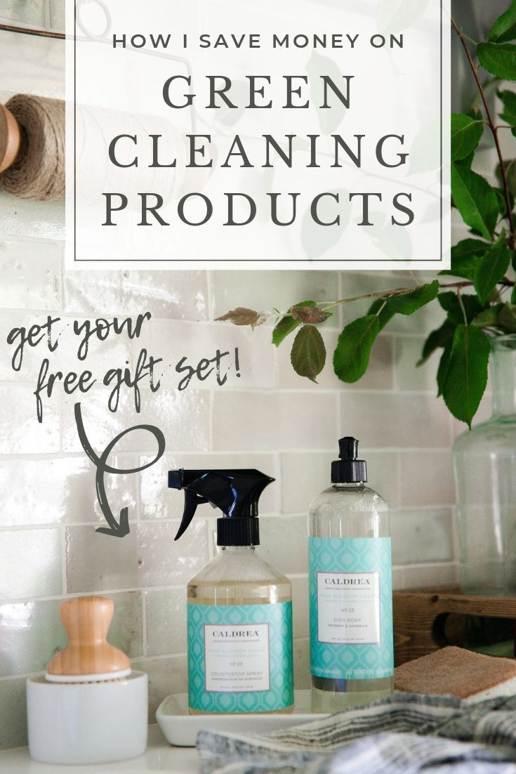 Get FREE Caldrea cleaning products