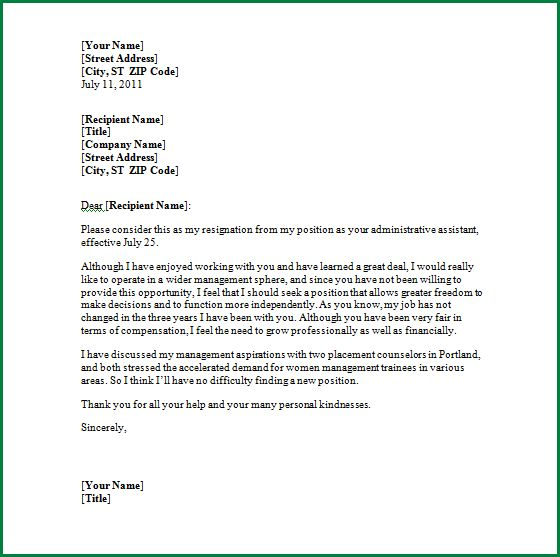 Microsoft Office Resignation Letter Template Ms Word Formal - microsoft office resignation letter template