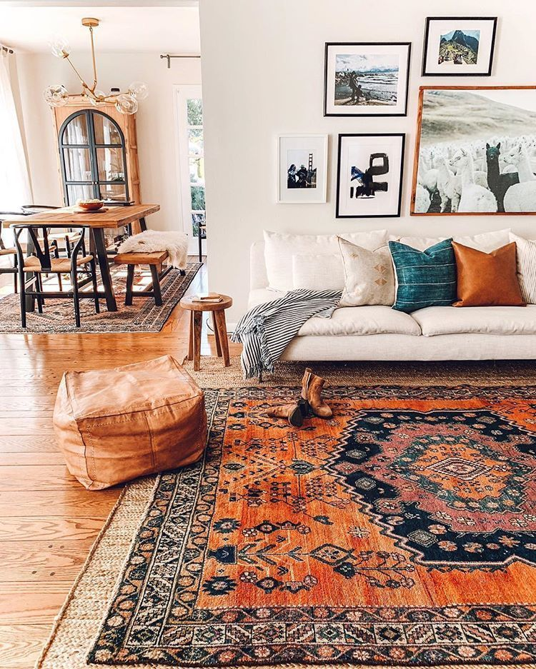 One of our most liked pictures and one of my favorite vintage rug finds of this year.