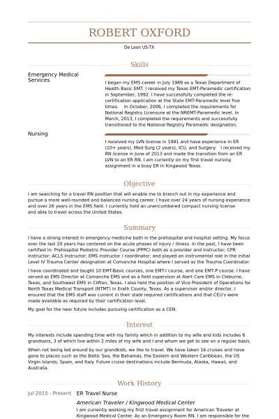 lvn resume samples - Jcmanagement.co