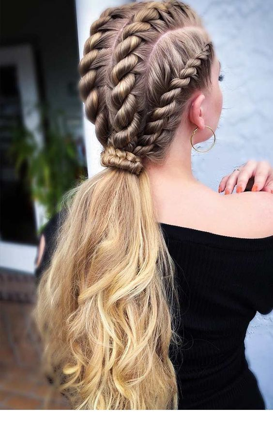 Another style of braid, nice trend