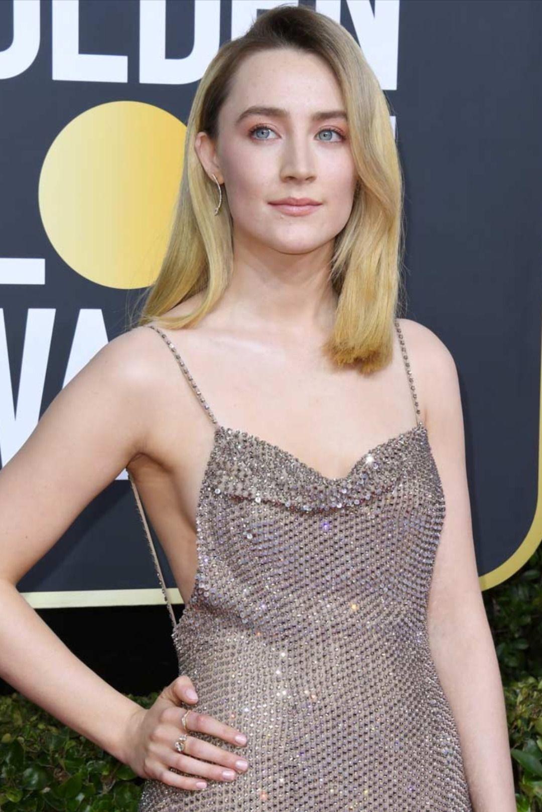 Saoirse Ronan Dazzles in Atelier Swarovski at the 2020 Golden Globes
