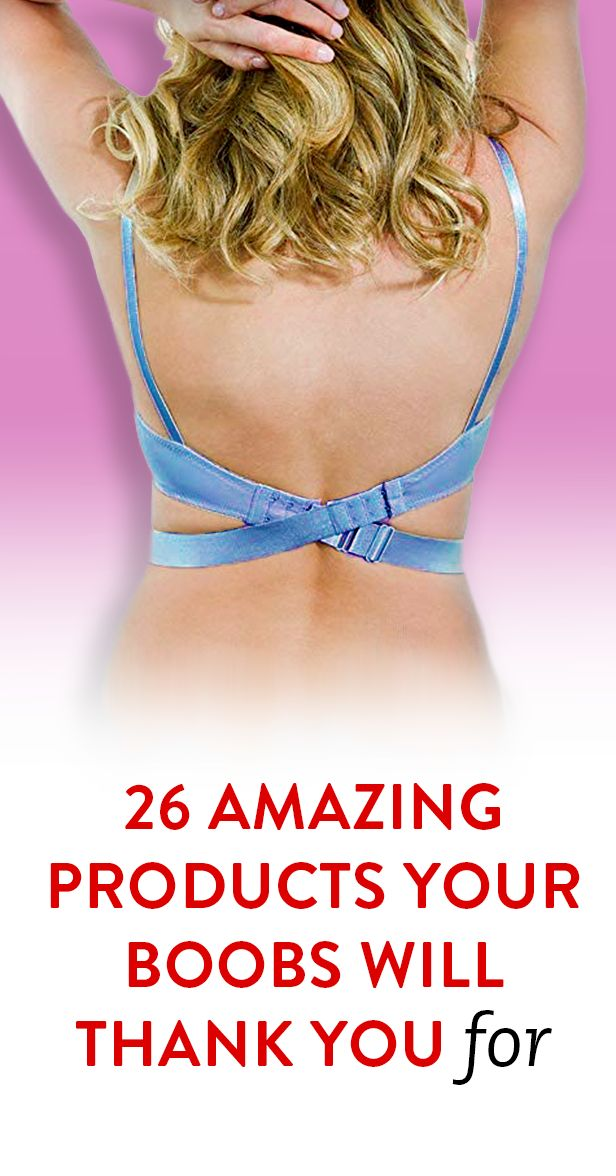 26 Amazing Products Your Boobs Will Thank You For