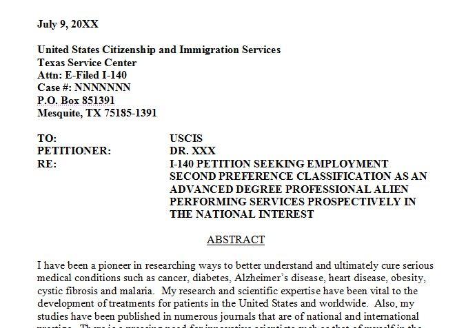 Immigration Letter. Employment Verification Letter For Immigration