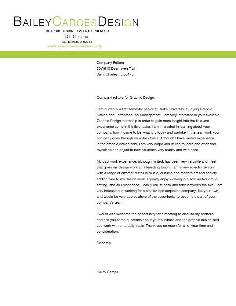Sample Letterhead For Cover Letter