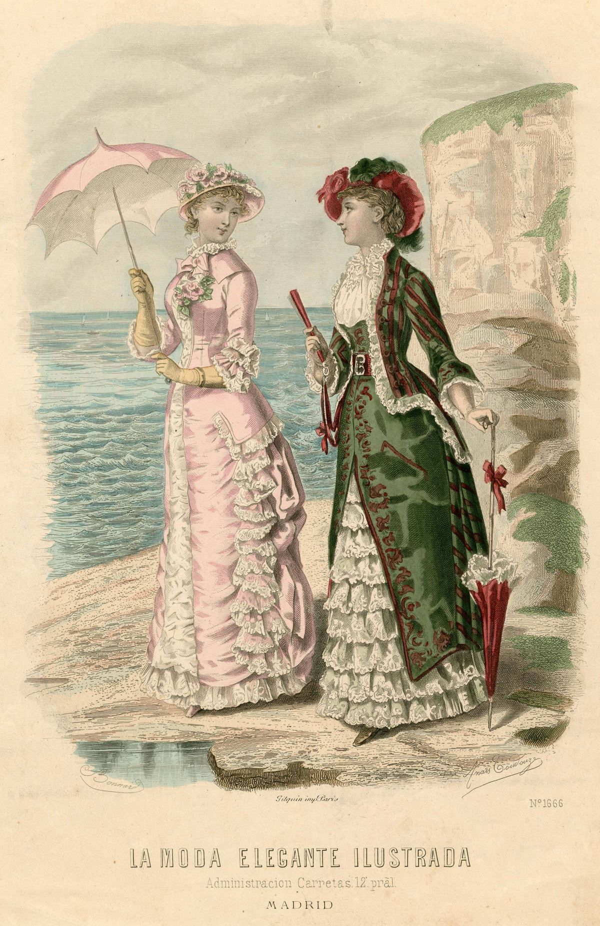 1000+ Images About 1880's Fashion Plates On Pinterest