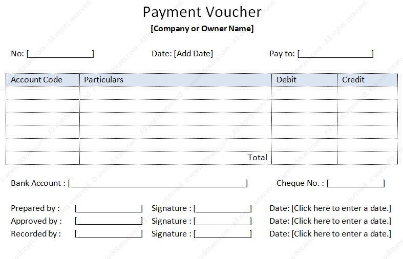 Payment Voucher Sample sample payment vouchers payment voucher – Payment Coupon Book Template