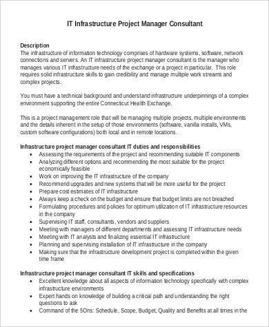 It Project Manager Job Description Technical Director Job - technical director job description