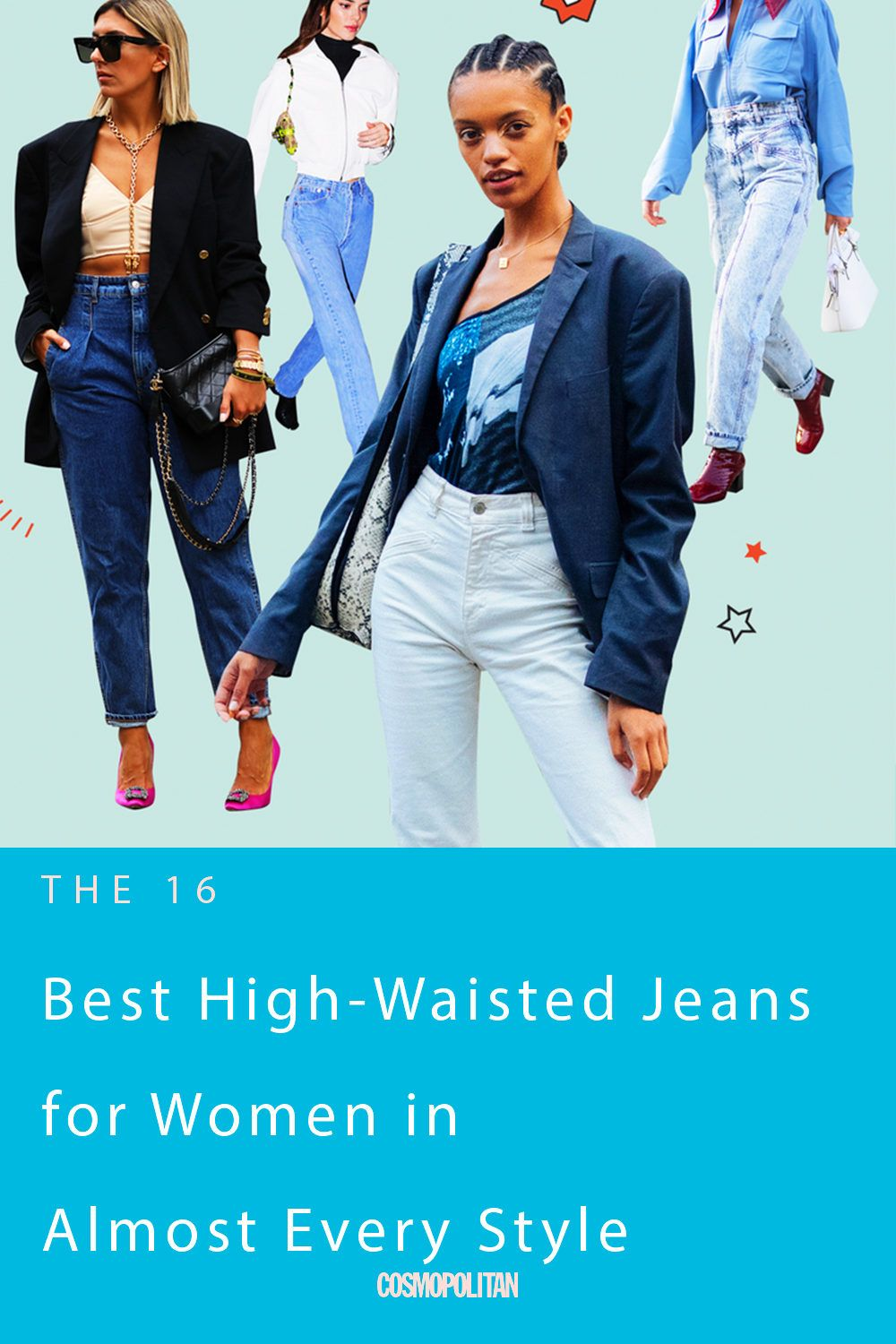 16 of the Best High-Waisted Jeans for Women in Almost Every Style