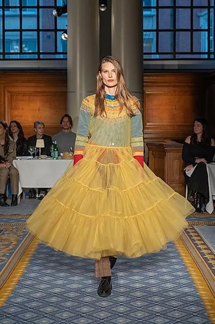 PROPORTION TALKS   Inspiring VM Trends From LFW AW20 - Molly Goddard, The joy of Colour