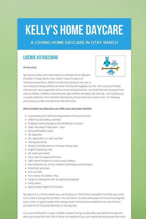 Childcare Ads Advertising Your Child Care Business And Getting - daycare flyer