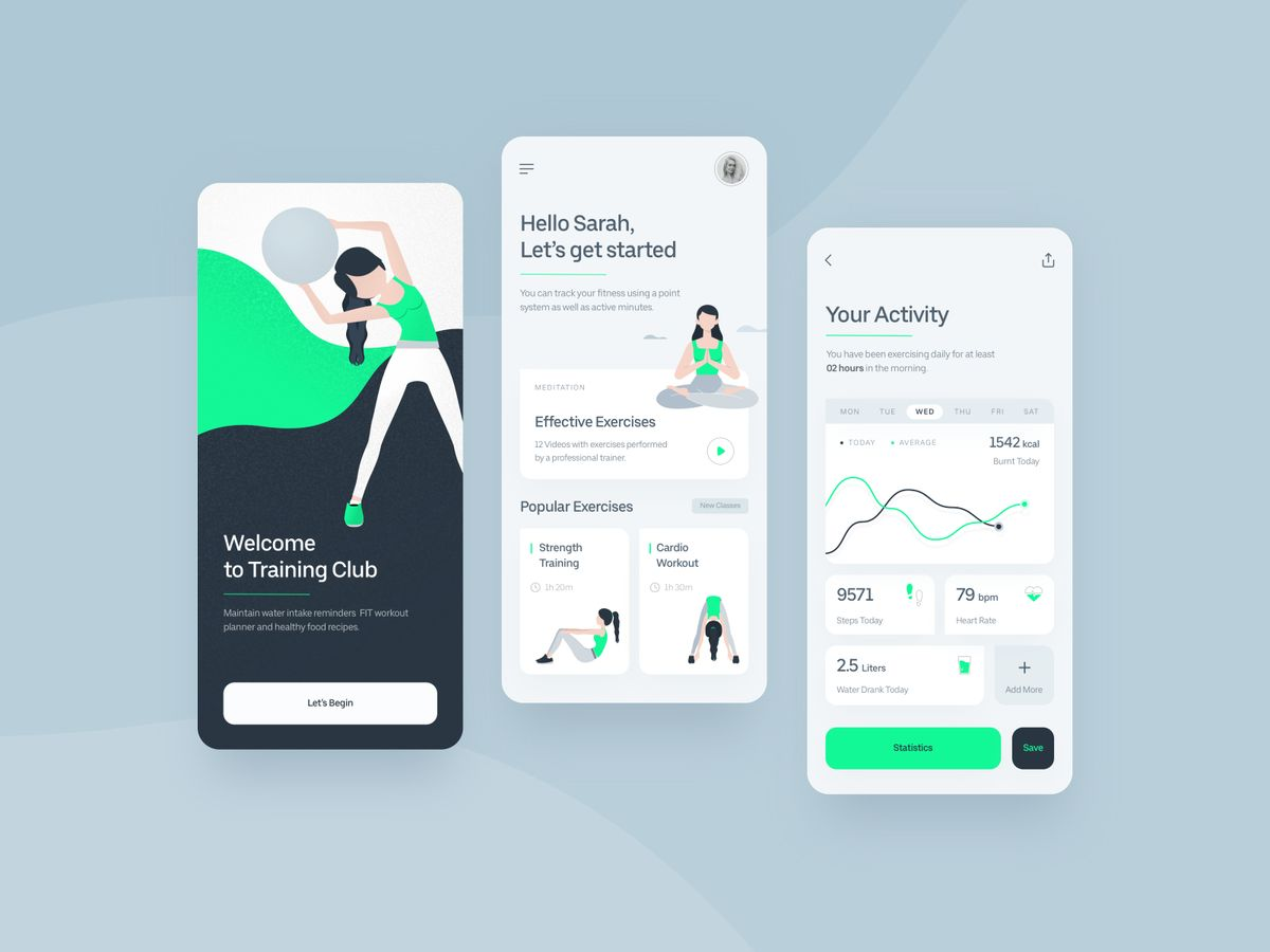 Fitness Application by Stephen Gustavo D'souza
