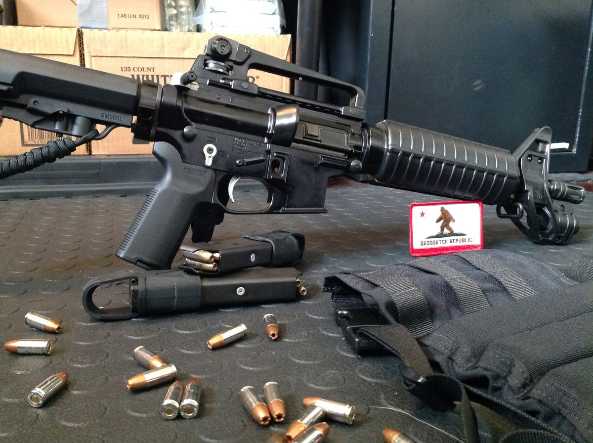 Light At The End Of The Tunnel Colt 9mm Ar