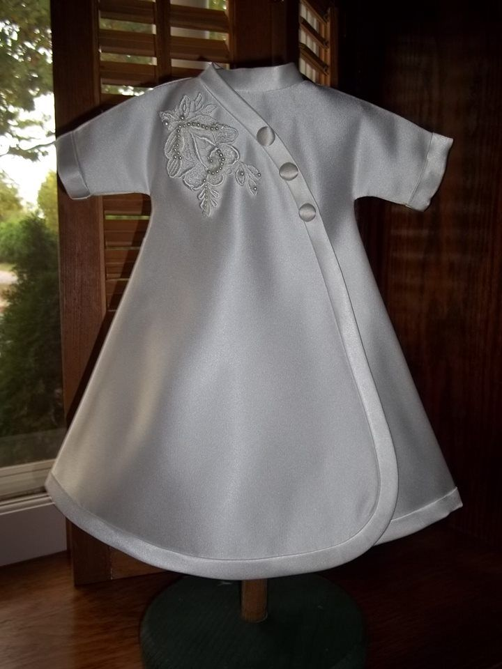 Baby Burial Gown Patterns Four Tiny Girls Bonnet Gown