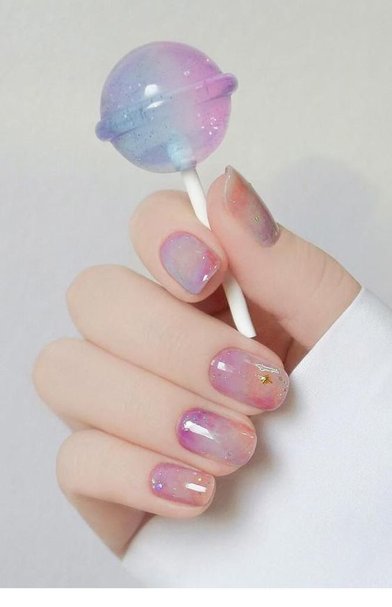 Sweet nails design for summer