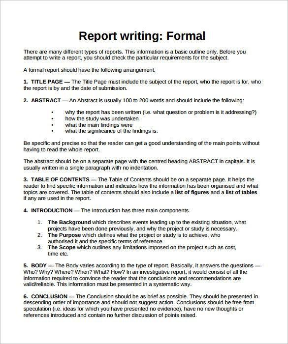 formal report template word node2004-resume-templatepaasprovider
