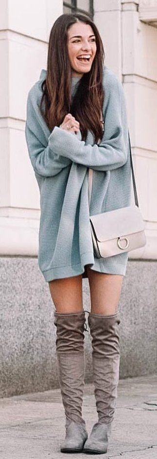 gray and white pants #winter #outfits