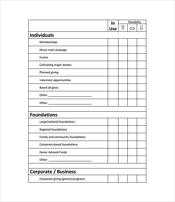 Sample Fundraising Plan   8+ Documents In Word, PDF  Fundraising Proposal Sample