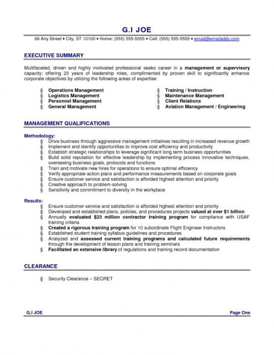 Summary Example Resume Resume Summary Example 8 Samples In Pdf - professional summary for cv