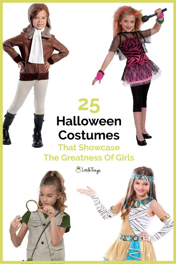 25 Halloween Costumes That Showcase The Greatness Of Girls: There are plenty of good Halloween costumes to encourage young girls to break the mold. #halloween #halloweencostumes #halloweencostumesforbigkids #halloweencostumesforgirls