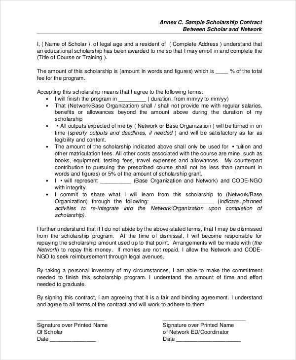 Contract Paper Sample Business Contract Template 10 Free Word Pdf - training agreement contract