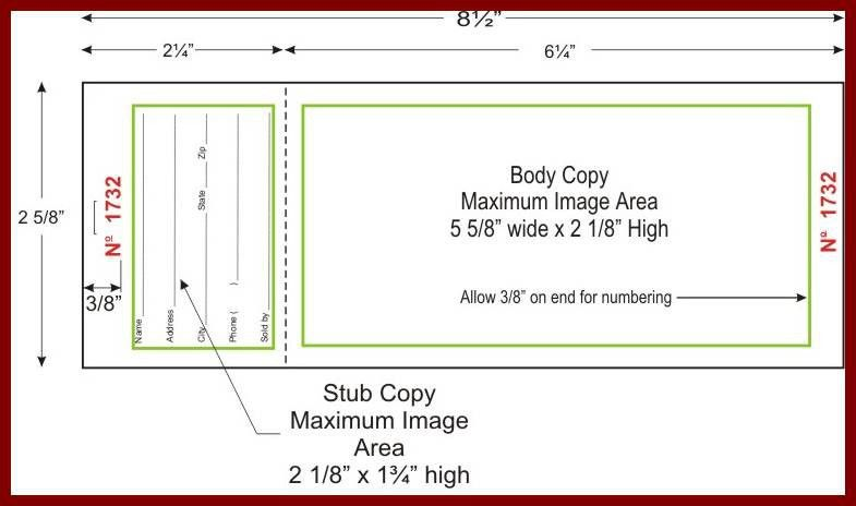Numbering Tickets In Word How To Get A Free Raffle Ticket - numbered tickets template