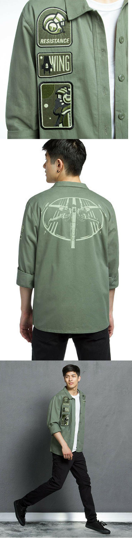 Star Wars Resistance Army Jacket - Star Wars Jacket #starwars #jacket #tiefighter