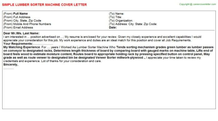 Carbon Broker Cover Letter