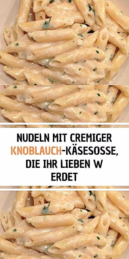 Zutaten Nudeln - Penne 100 gbutter 5-6 Knoblauchzehen 4 Esslöffel Mehl 1 und 1/2 Tasse ...