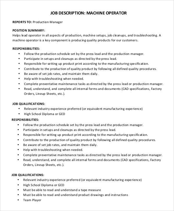 Print Production Manager Job Description Print Production Manager
