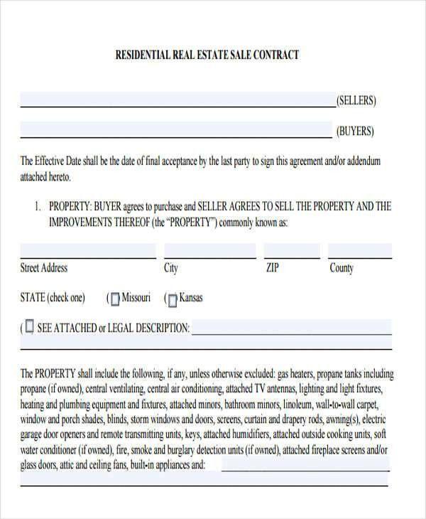 Sales Contract Template 15 Sales Contract Templates Free Sample - contract amendment template