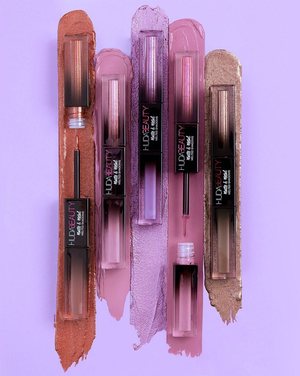 HUDA BEAUTY Matte & Metal Melted Double Ended Eyeshadows