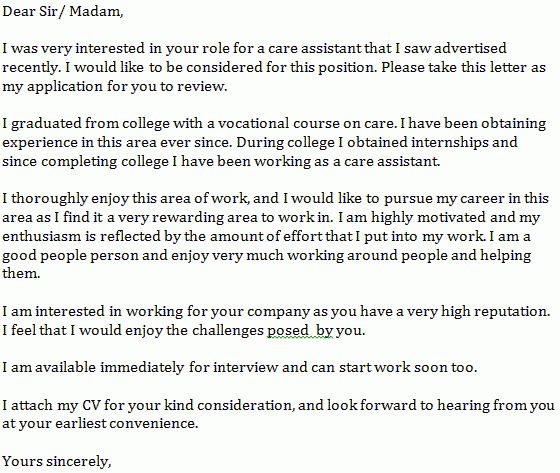 Property Caretaker Cover Letter | Cvresume.unicloud.pl