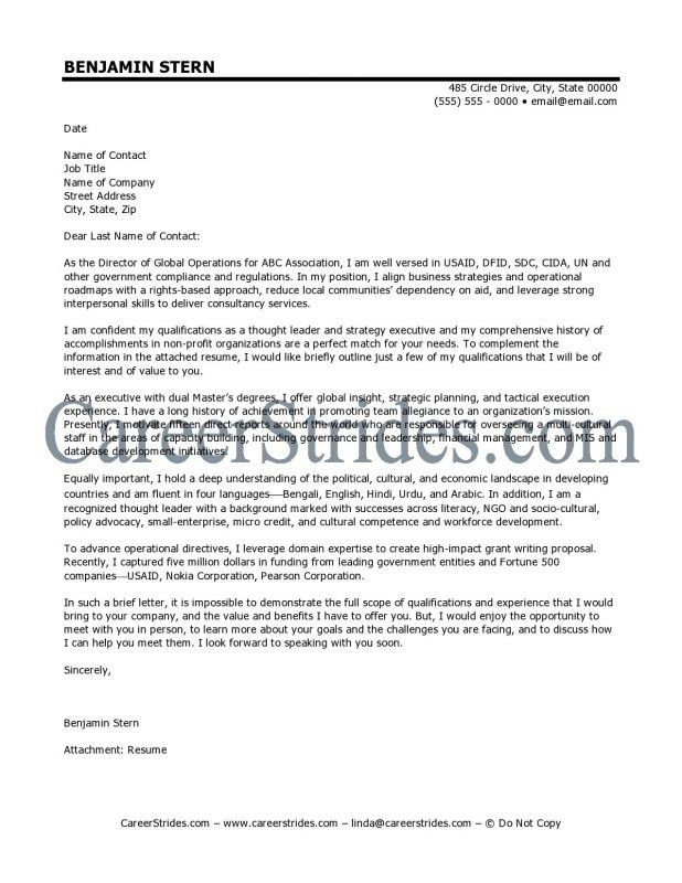Cultural Adviser Cover Letter | Cvresume.unicloud.pl