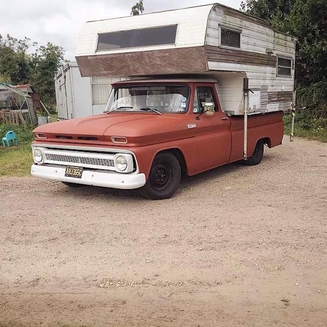Chevrolet Camper Shell: Pictures Of 1960-66 Campers Please