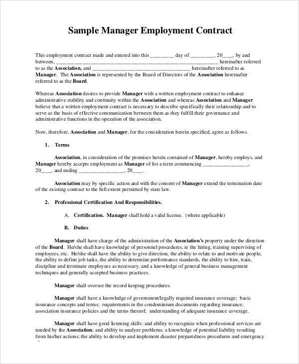 professional athlete contract template