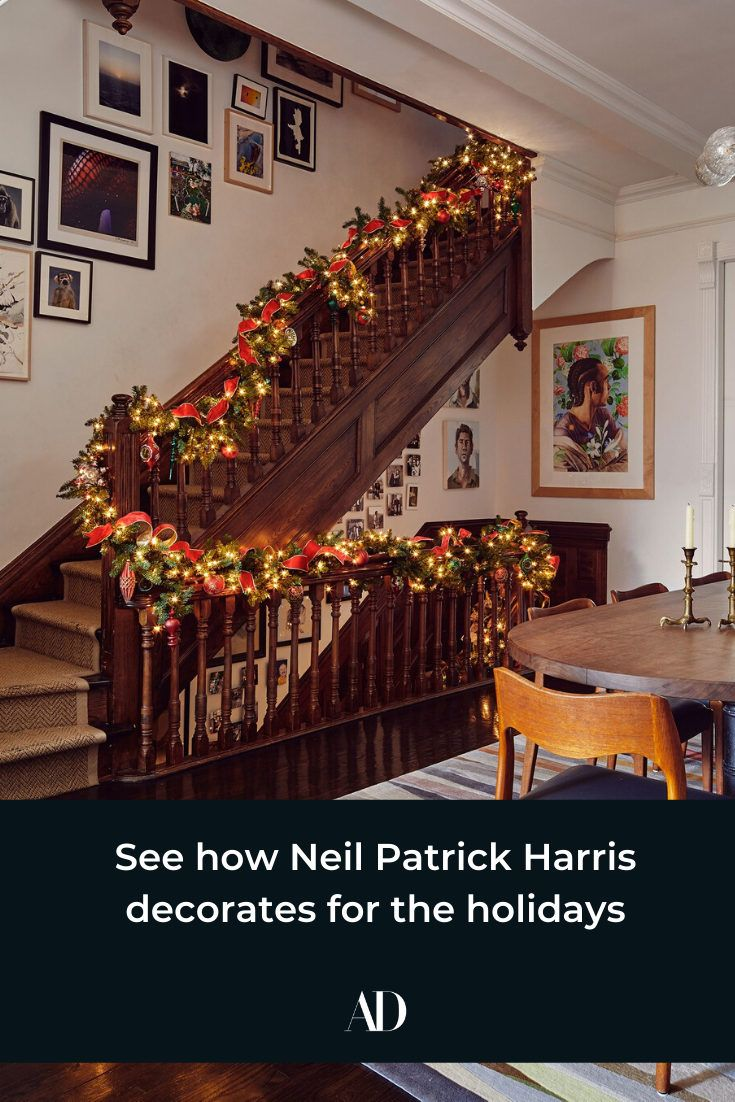 See how Neil Patrick Harris decorates for the holidays
