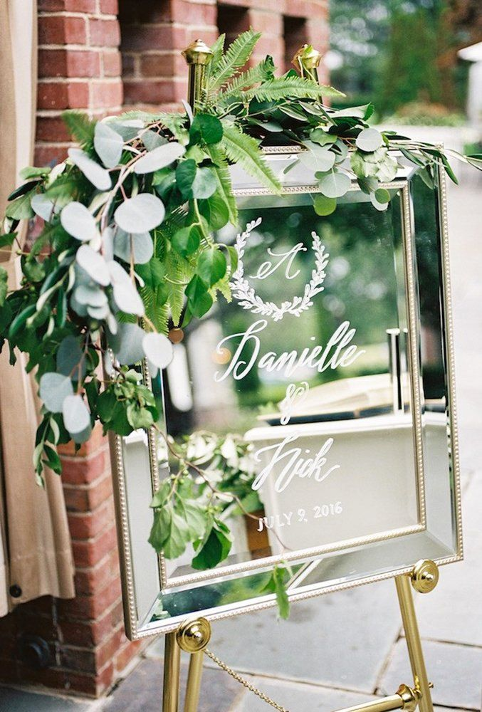 Budget Friendly Wedding Trend: 39 Greenery Wedding Decor Ideas