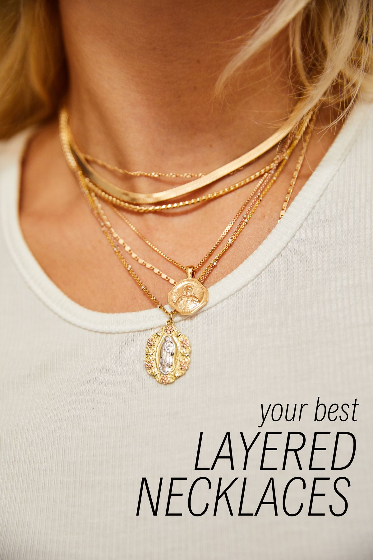 Your Best Layered Necklaces