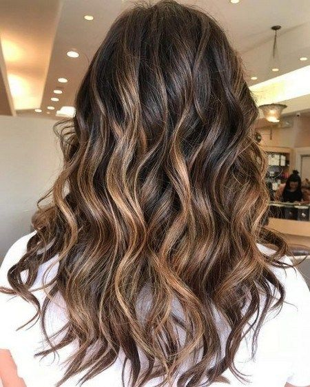 Subtle Balayage Brunette Hairstyles With Fall – Winter Colors ~ modifikationcar.com