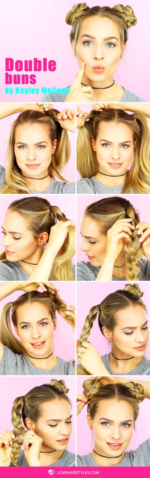 "A Double Buns Updo Tutorial <a class=""pintag"" href=""/explore/hairtutorial/"" title=""#hairtutorial explore Pinterest"">#hairtutorial</a> <a class=""pintag"" href=""/explore/bun/"" title=""#bun explore Pinterest"">#bun</a> <a class=""pintag"" href=""/explore/braids/"" title=""#braids explore Pinterest"">#braids</a> ★ Cute and easy bun hairstyles for short hair, shoulder length or for long hair. Pick a formal one for work or fancy events. ★ See more: <a href=""https://glaminati.com/bun-hairstyles/"" rel=""nofollow"" target=""_blank"">glaminati.com/…</a> <a class=""pintag"" href=""/explore/glaminati/"" title=""#glaminati explore Pinterest"">#glaminati</a> <a class=""pintag"" href=""/explore/lifestyle/"" title=""#lifestyle explore Pinterest"">#lifestyle</a><p><a href=""http://www.homeinteriordesign.org/2018/02/short-guide-to-interior-decoration.html"">Short guide to interior decoration</a></p>"