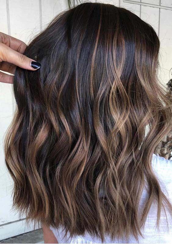 I Like this hairstyle #brownbalayageshorthair