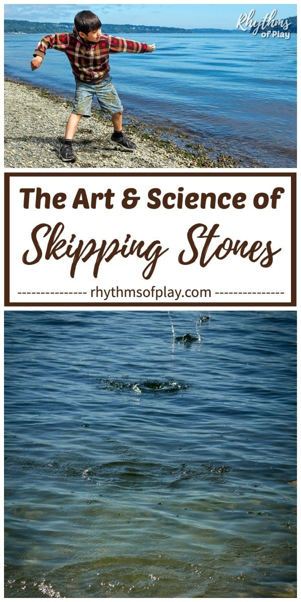 How to Skip Rocks: The Art and Science of Skipping Stones   RoP