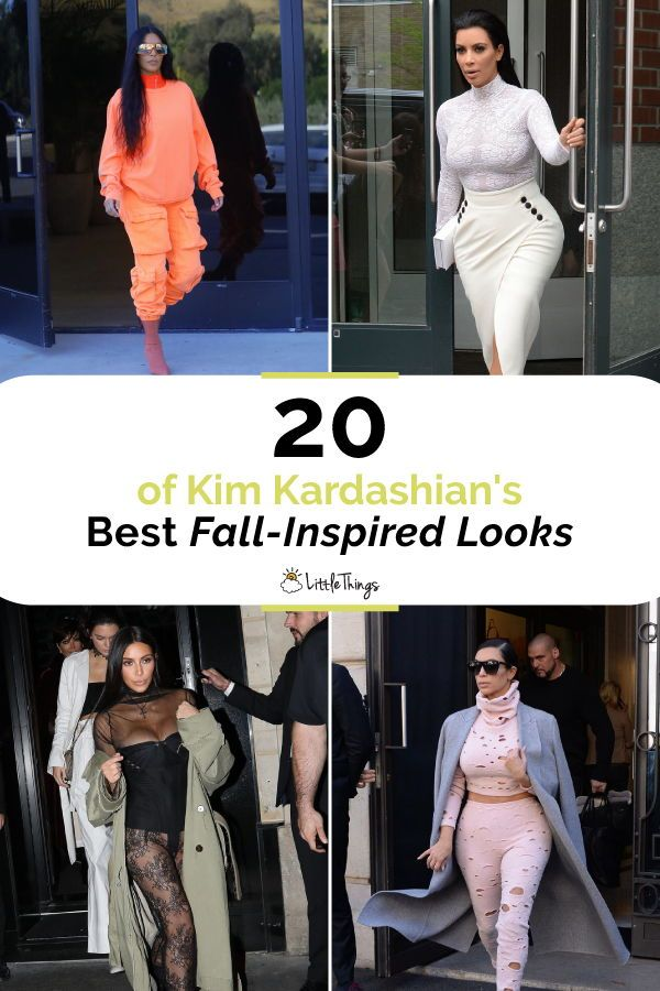 20 of Kim Kardashian's Best Fall-Inspired Looks: Seasons change, but Kim Kardashian's fashion sense stays killer -- and here are our favorites! #celebrities #celebritystyle #chicstyle #dressesbystyle #womenstyle
