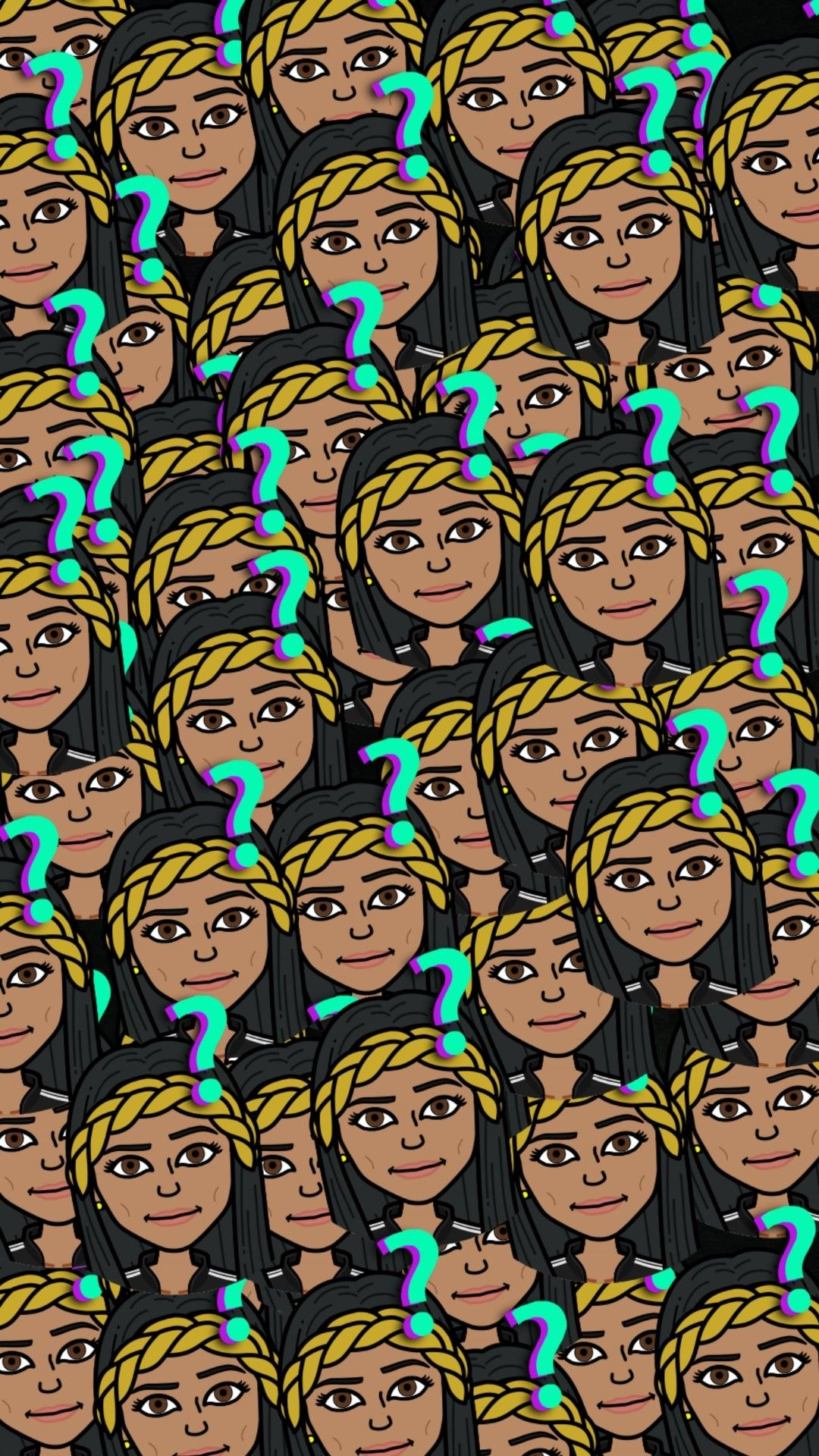 Bitmoji wallpaper Emoji wallpaper, Wallpaper backgrounds