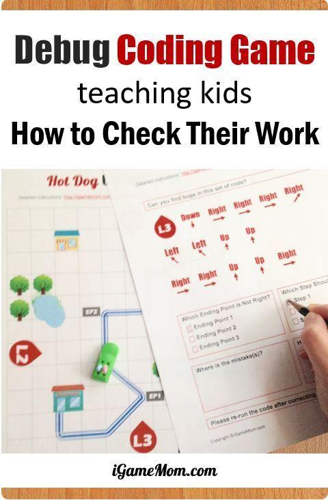 Coding Game Improving Kids Problem Solving Skills
